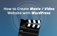 how to create movie video website with wordpress
