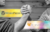 wordpress vs b2evolution comparison best blogging platform