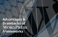advantages and drawbacks wordpress frameworks