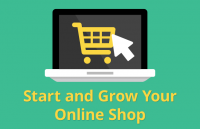 start and grow your online shop ecommerce website