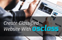 create classified website with osclass