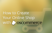how create online shop oscommerce