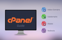 how to addon manage domains subdomains redirect aliases cpanel
