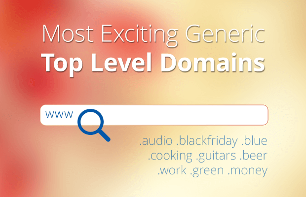 most exciting generic top level domains