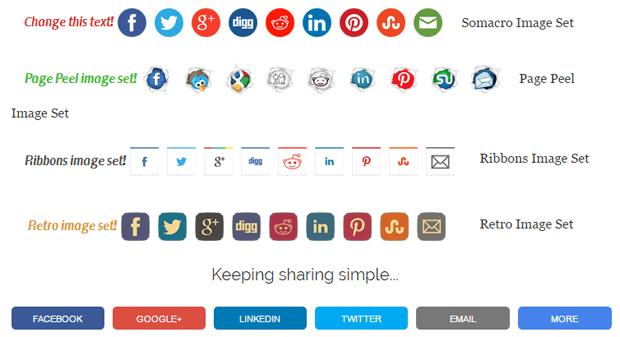 simple share button adder essenial wordpress plugin