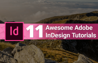 11 awesome adobe indesign tutorials