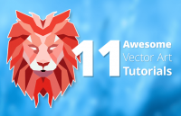 11 awesome vector art tutorials for beginners and experienced designers