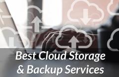best cloud storage online backup services