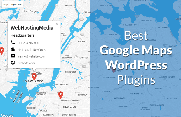 Best Google Maps Plugins for WordPress [2019]