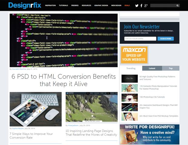 designerfix web design blog