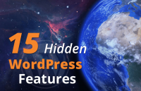 hidden secret wordpress features