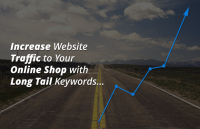 increase website traffic online shop long tail keywords