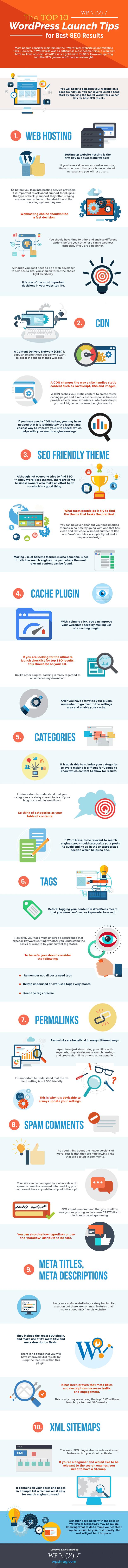 top wordpress launch tips best seo results
