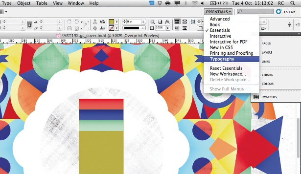create quick layout indesign