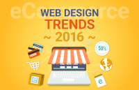 ecommerce web design trends 2016