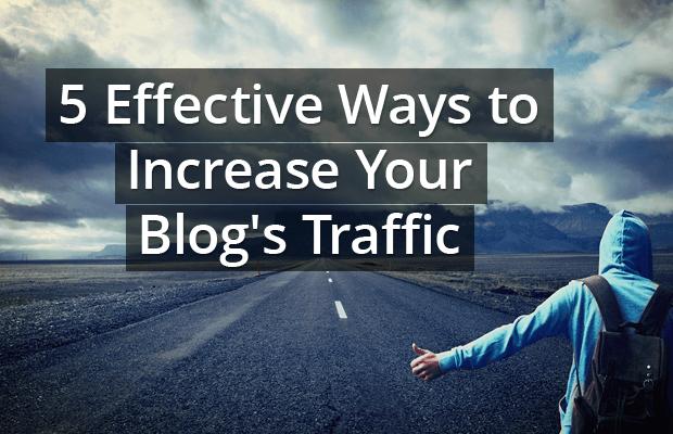 effective ways increase blog traffic