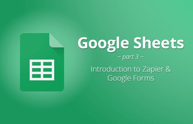 google sheets zapier google forms