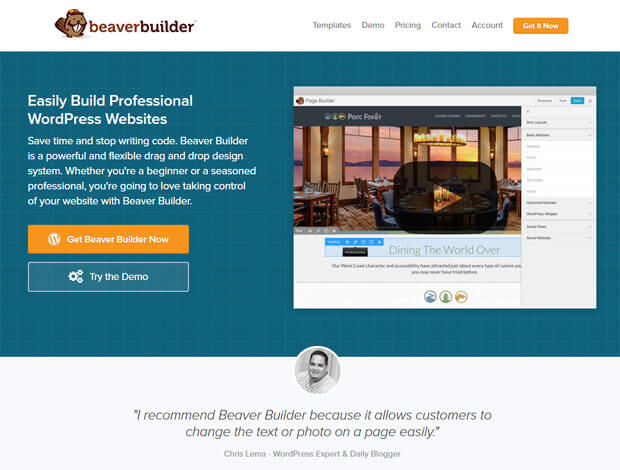 wpbraverbuilder wordpress page builder