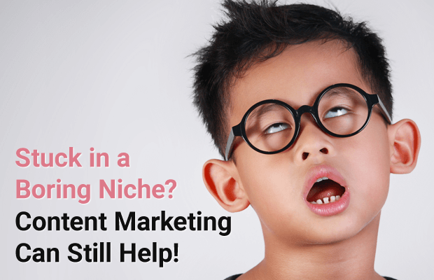 boring niche content marketing can help