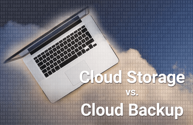 cloud storage vs cloud backup