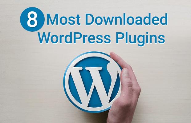 most downloaded wordpress plugins
