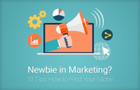 newbie marketing tips find your niche