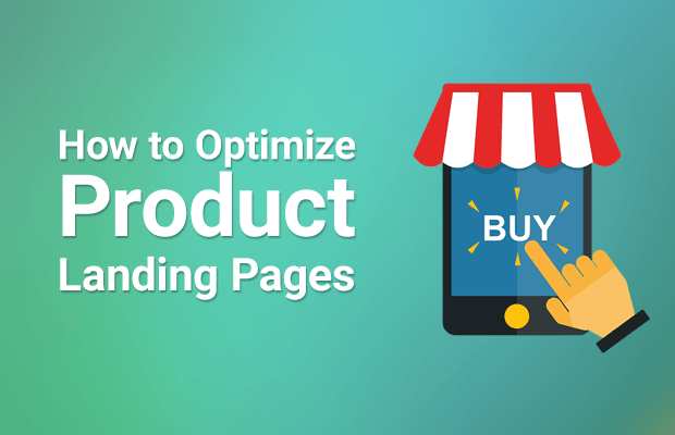 optimize product landing pages ecommerce websites
