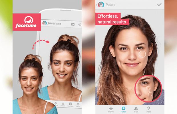 facetune instagram app andorid