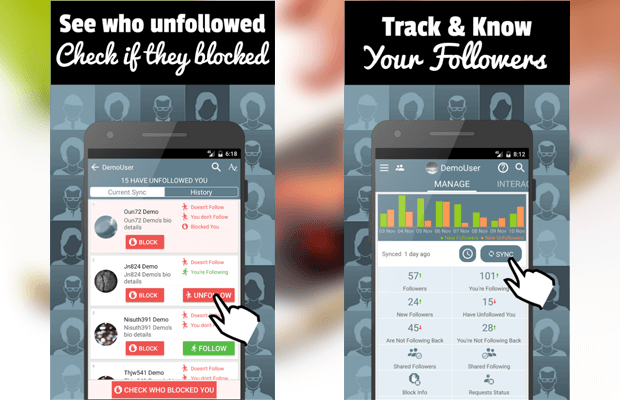 follower stats instagram app android
