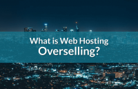 what is web hosting overselling