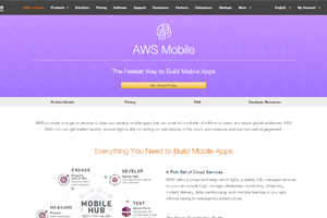 aws mobile app hosting