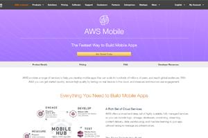 aws mobile app hosting
