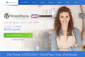 bluehost best woocommerce hosting