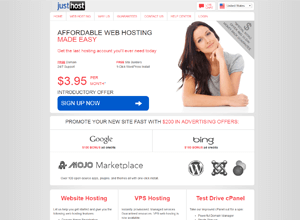 justhost best web hosting