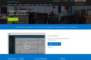 microsoft azure mobile app hosting
