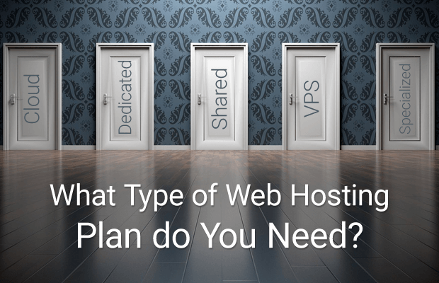 what type web hosting plan you need