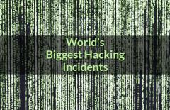 worlds recent biggest hacking incidents
