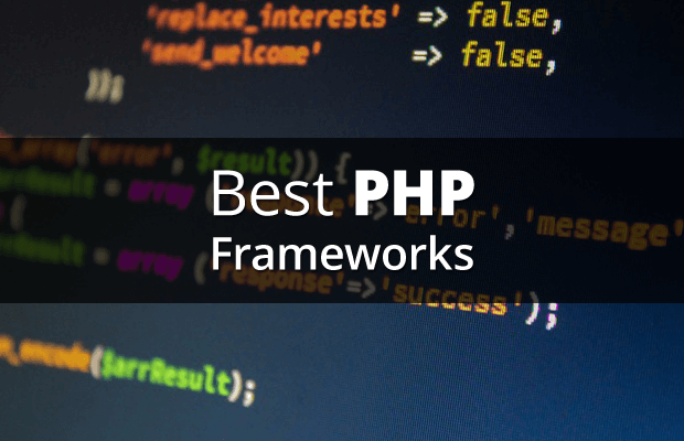 best php frameworks for web developers