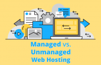 managed vs unmanaged web hosting