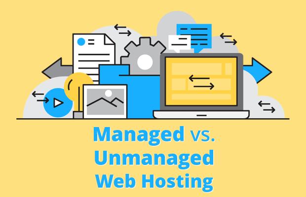 managed vs unmanaged web hosting