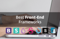 best front end frameworks