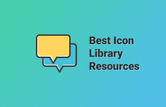 best icon library resources