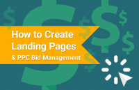 create landing pages ppc bid management