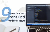 improve front end performance speed up website