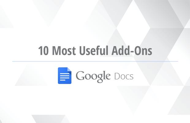best google docs addons free