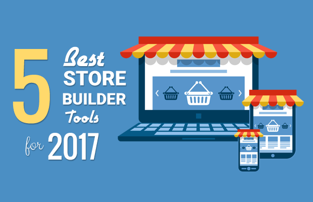 5 best online store builder tools to choose 2017 for Best online store website