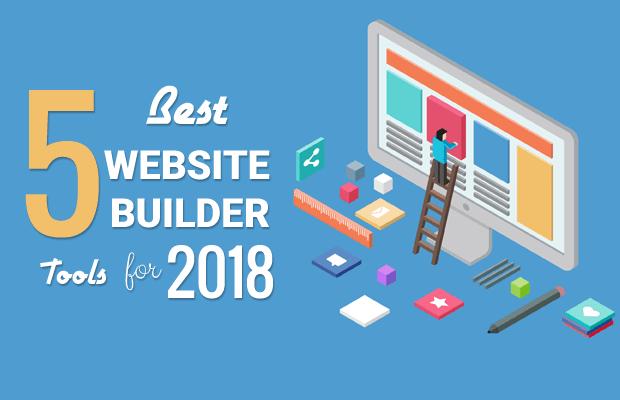 best website builders 2018