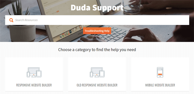 duda customer support