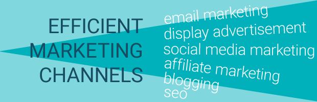 efficient marketing channels