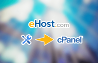 ehost switch website builder to cpanel hosting